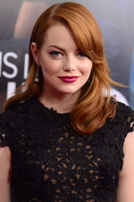 Emma Stone Red Old Hollywoods Hot