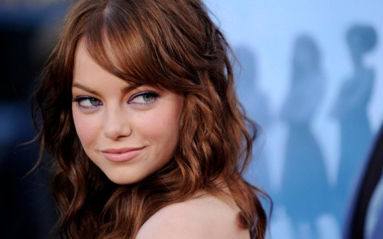 Emma Stone Wallpaper Screensaver Hd Desktop Background Hollywood Celeb Star Wallpaper