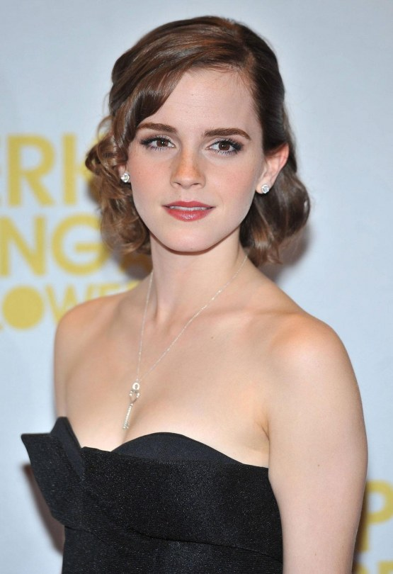 Emma Watson At Perks Of Being Wallflower Premiere In London Young