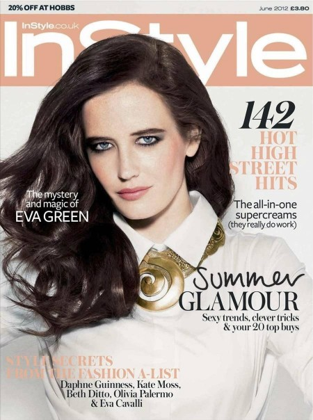 Eva Green Instyle Cover