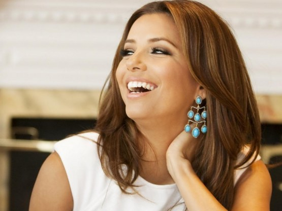 Eva Longoria Smile Full Hd Wallpaper