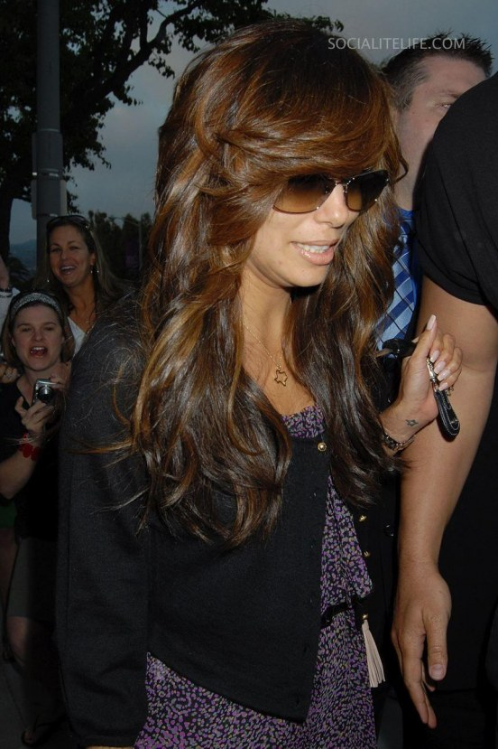 Evalongoria Hair Extensions Photos Hair