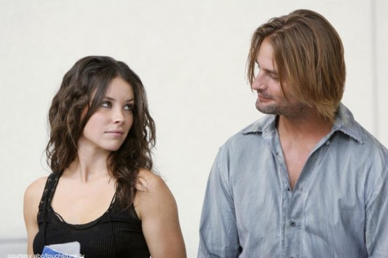Evangeline Lilly Josh Holloway Lost