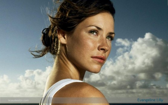 Evangeline Lilly Wallpaper By Kcaudesign Freckles