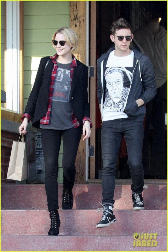 Celebrity Bumps Style Thread For Mommies To Evan Rachel Wood Jamie Bell Baby Shopping