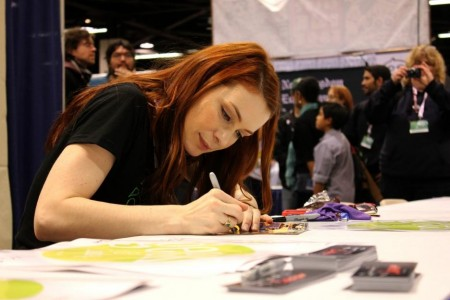 Felicia Day Signing