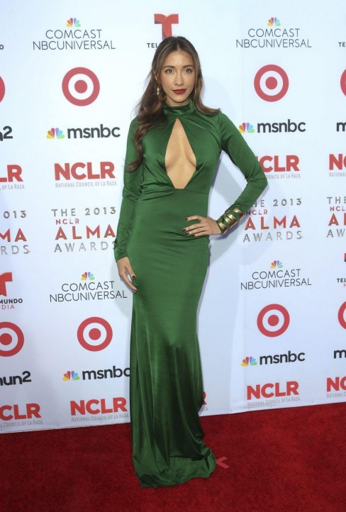 Fernanda Romero At Nclr Alma Awards In Pasadena