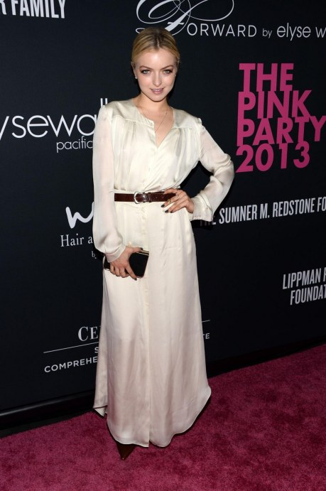 Francesca Eastwood At The Pink Party In Santa Monica