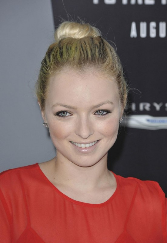 Francesca Eastwood At Total Recall Premiere In Hollywood