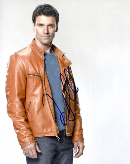 Frank Grillo Autographed Brown Jacket Photo