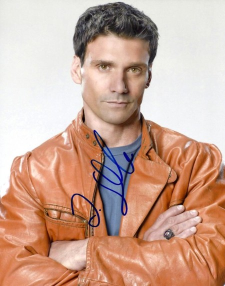 Frank Grillo Autographed Close Up Photo
