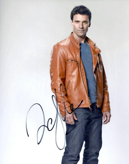 Frank Grillo Autographed Leather Jacket Photo