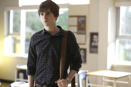 Picture Of Freddie Highmore In Bates Motel Large Picture