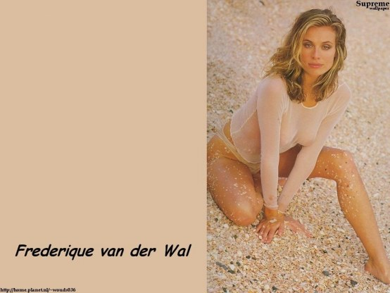 Frederique Van Der Wal Hot