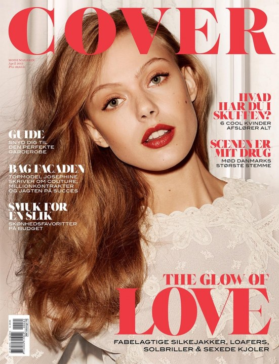 Frida Gustavsson By Hasse Nielsen Coco Cover Denmark April Height