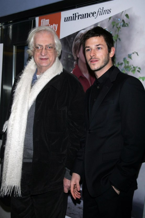 Bertrand Tavernier Gaspard Ulliel Arrive For Premiere Of Potiche New York Movies