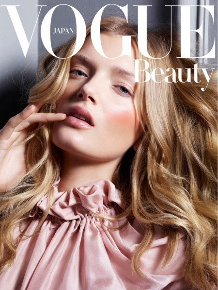 Lily Donaldson Vogue Japan Beauty August Jem Mitchell Lily Donaldson
