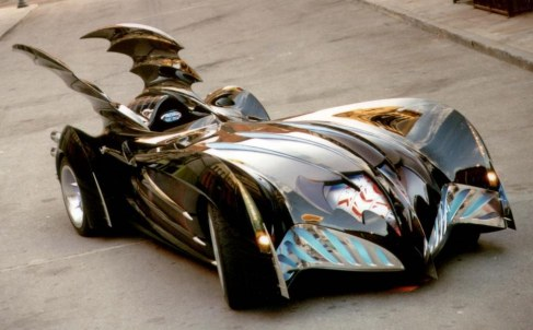 George Clooney Batman And Robin Batmobile Batman