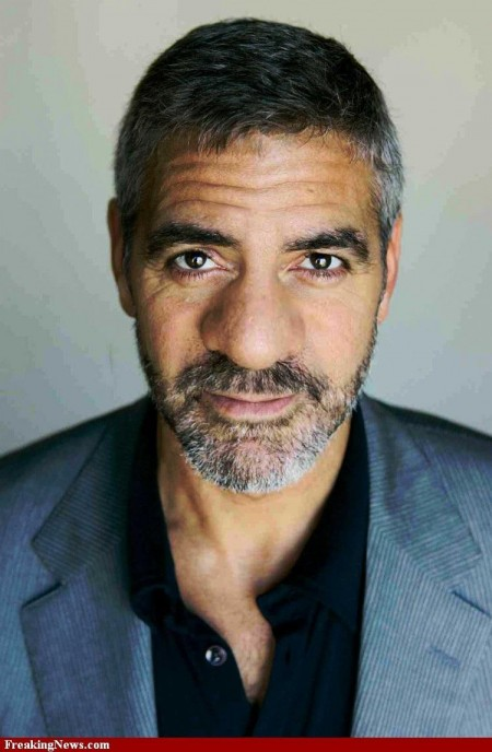 George Clooney With Big Nose