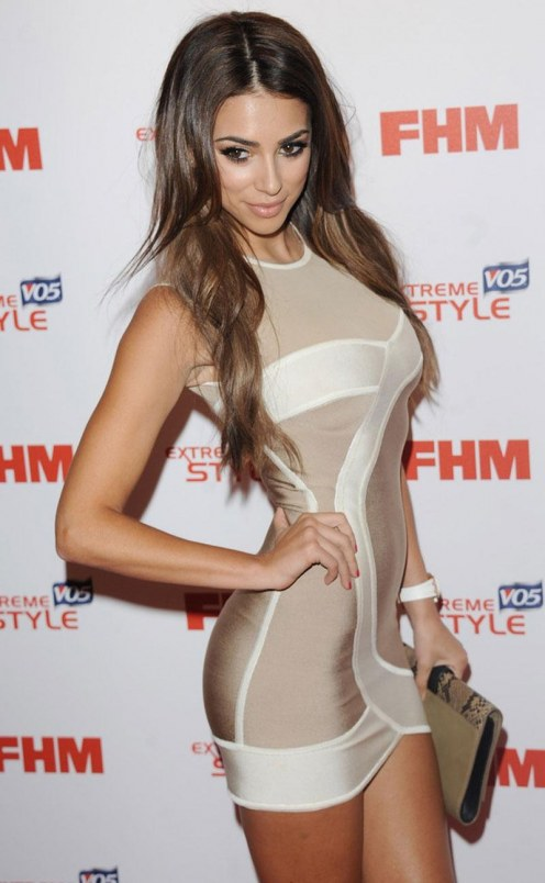 Georgia Salpa At Fhm Sexiest Women In The World Launch Party In London