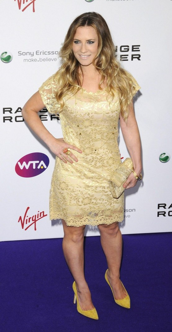 Georgie Thompson At Wta Tour Wimbledon Party