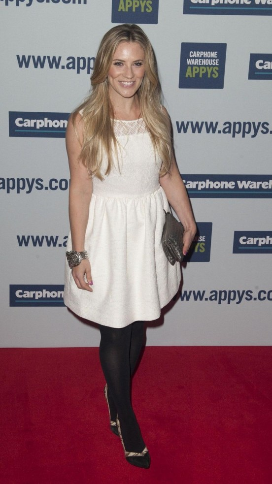 Georgie Thompson Carphone Warehouse Appys Th April Hot