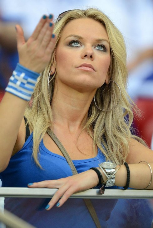 Most Attractive Girls From The Gallery Of Euro First Round Greek Girls