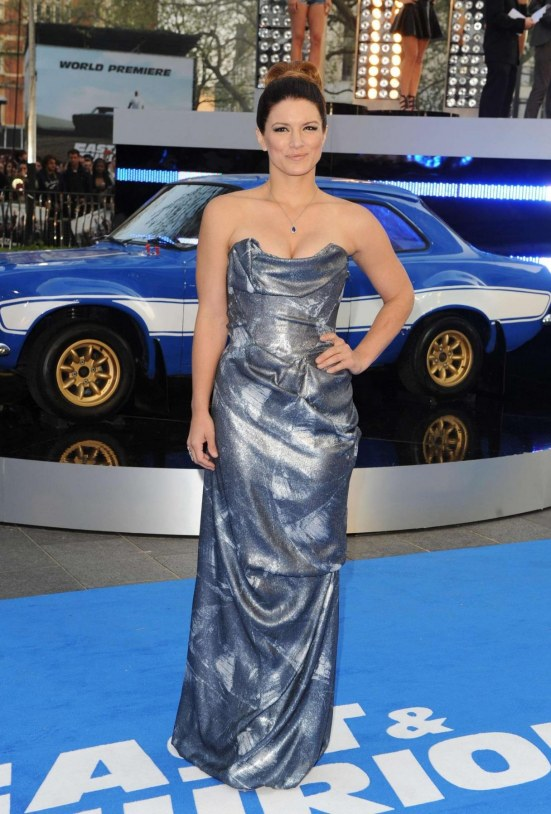 Gina Carano At Fast And Furious Premiere Fast