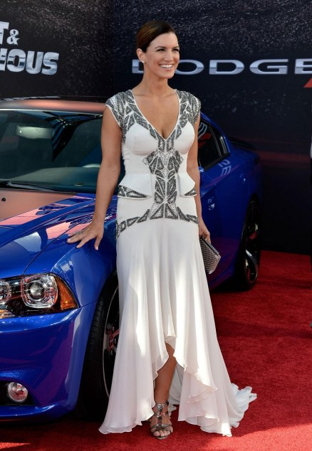 Gina Carano At The Fast Furious Premiere In Los Angeles Fast And Furious