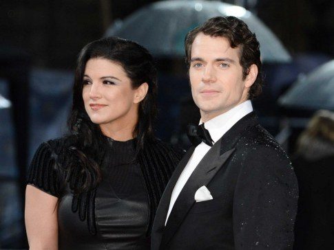 Sorry Ladies Hes Taken Cavill Is Currently Dating Actress Gina Carano Whos Featured In Fast And Furious Fast