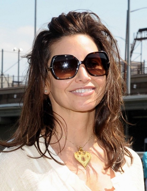 Gina Gershon Tribeca Ny Fest Soccer Day Celebrity Match St April