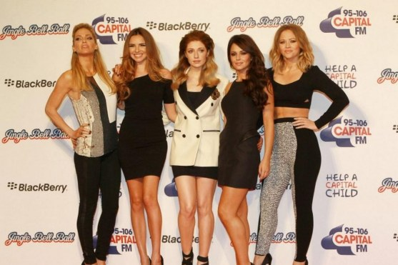 Girls Aloud Jingle Bell Ball Names