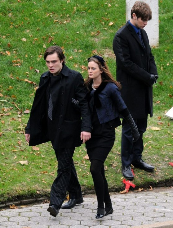 Chuck And Blair At The Funeral Chuck And Blair