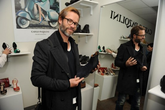 Guy Pearce At Carlo Pazolini At Miami Lounge At Sundance Madonna