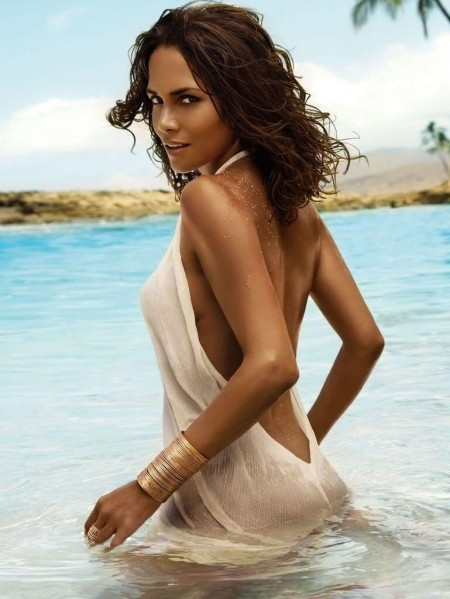 Halle Berry Perfume Campaign For