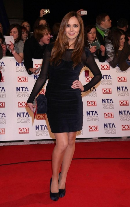 Hannah Tointon At The National Television Awards At The Arena In London