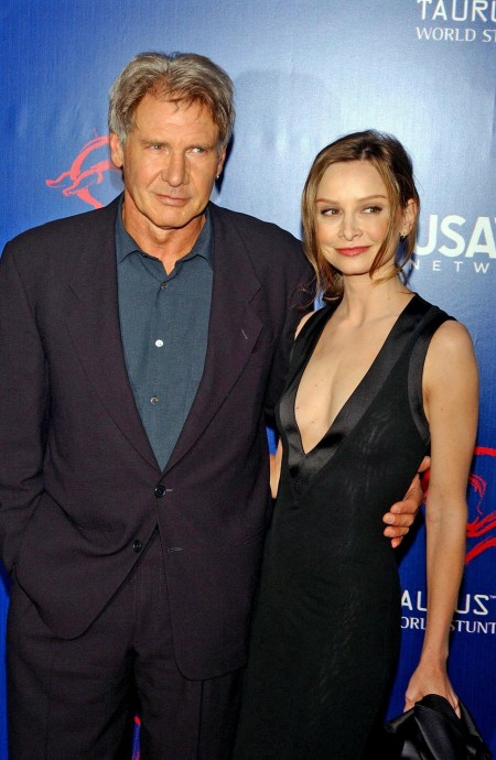 Calista Flockhart Harrison Ford Dvdbash And Calista Flockhart