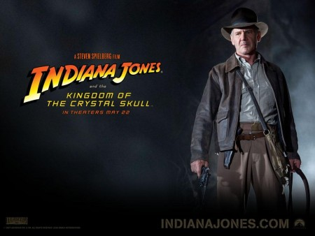 Harrison Ford In Indiana Jones And The Kingdom Of The Crystal Skull Wallpaper Indiana Jones