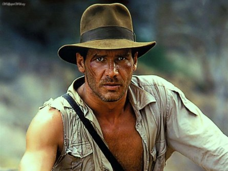 Herharrison Ford As Indiana Jones