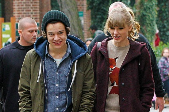 Harry Styles And Taylor Swift Top Off