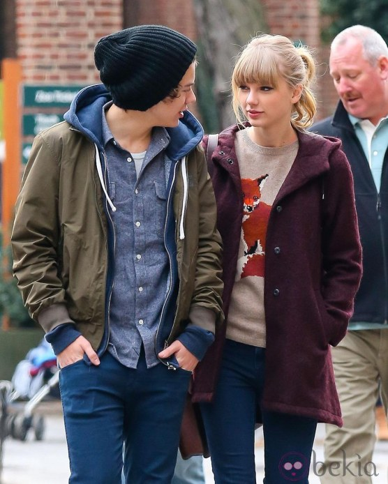 Harry Styles Taylor Swift Intercambian Miradas