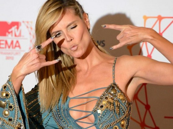 Heidi Klum Young Models Have To Be Careful Photographers Often Try To Get To You Take Everything Off