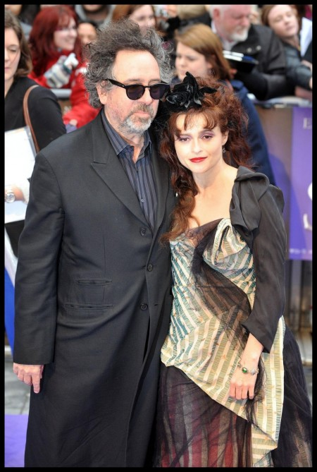 Helena Bonham Carter Dark Shadows London Premiere Tim Burtons Dark Shadows And Tim Burton