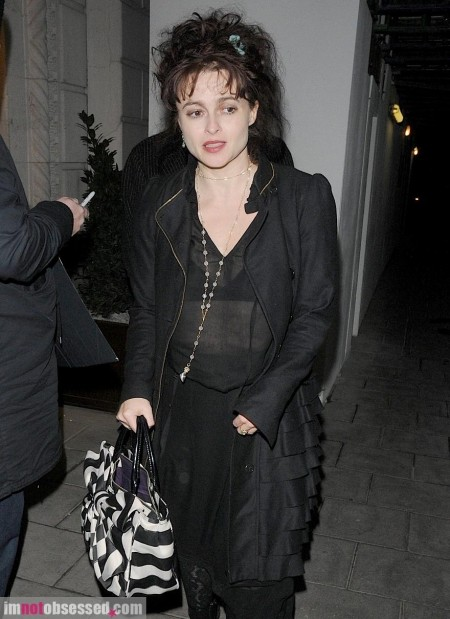Helena Bonham Carter Tim Burton Date Night