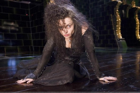 Helena Bonham Looking From Harry Potter Harry Potter