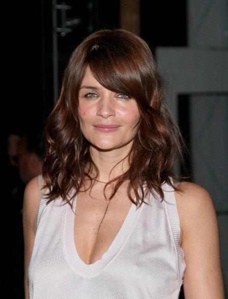 Helena Christensen Curly