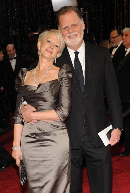 Helen Mirren Husband Taylor Hackford Arrive At Rd Annual Academy Awards Hollywood The Cook The Thief