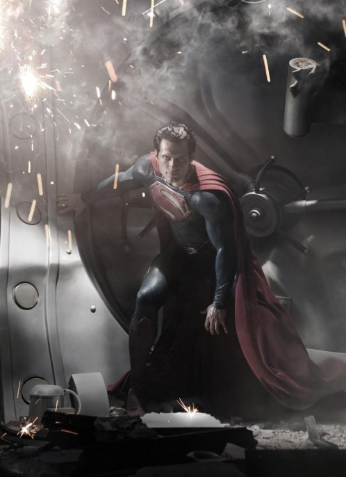Henry Cavill In Superman Man Of Steel Superman