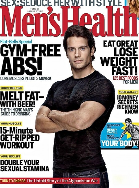 Mens Health Us Nov Henry Cavill