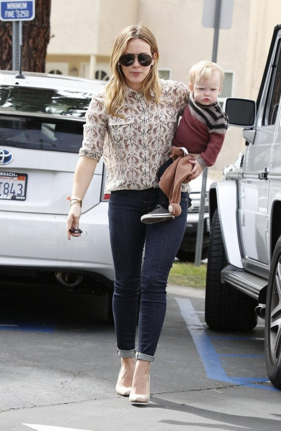 Hilary Duff Son Luca March Weight